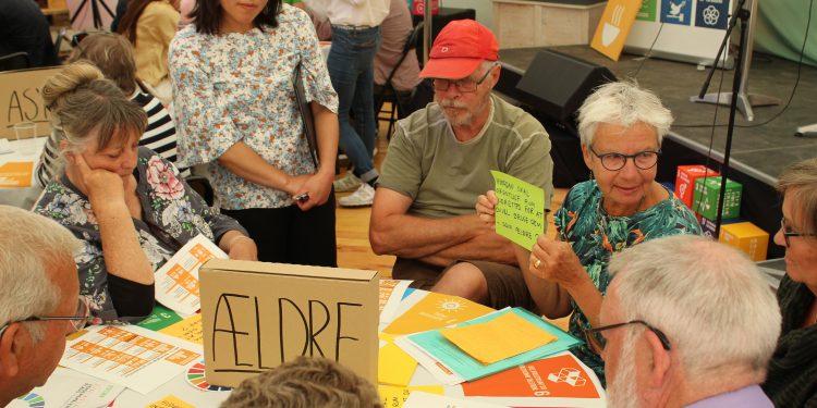 """GS """"Ældrebordet"""" Leave No One Behind eventet på Folkemødet"""