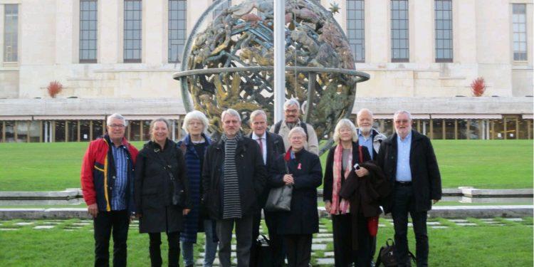 GS på studierejse i Geneve